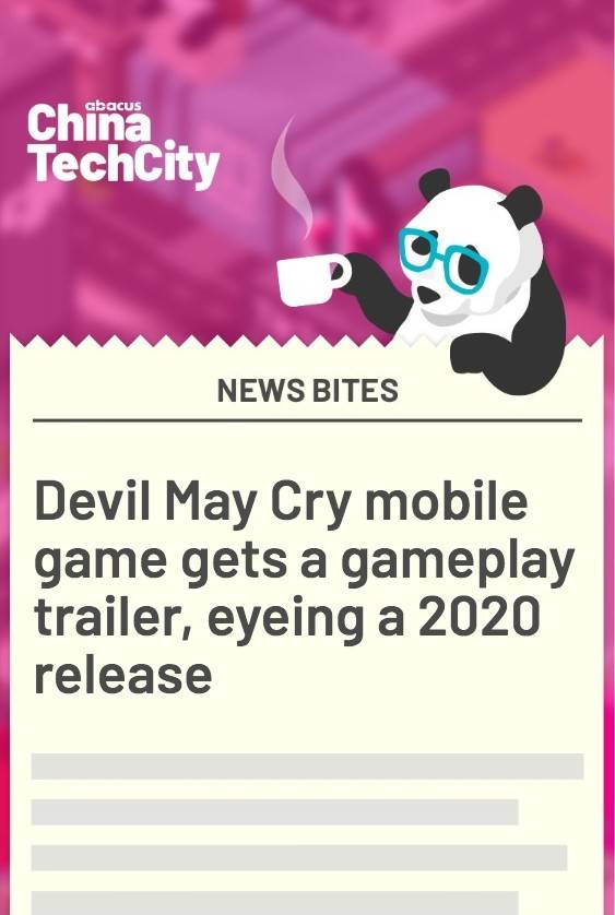 Devil May Cry mobile game gets a gameplay trailer, eyeing a 2020 release