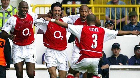 5 Pemain Kunci Arsenal di 'Invincible Season'
