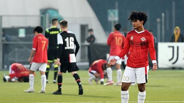 Garuda Select Kalah Dari Juventus U 17 Bagus Kahfi Sebut