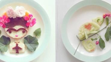 最愛這種小清新!荷蘭攝影師不只吃的清淡,鏡頭下的食物更清新~