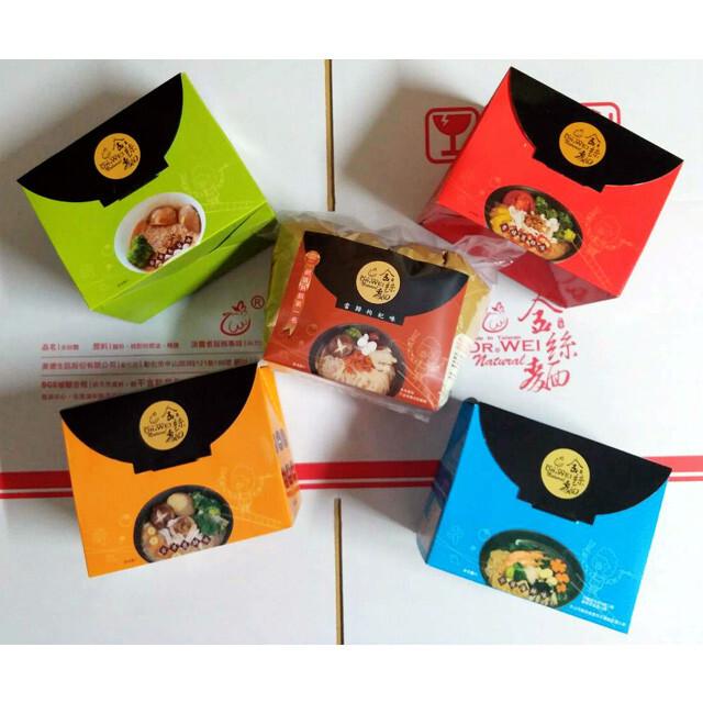 ☆慶中元 促銷金絲麵輕鬆分享★ 口味搭配組 ◆ - 12盒(共48包)