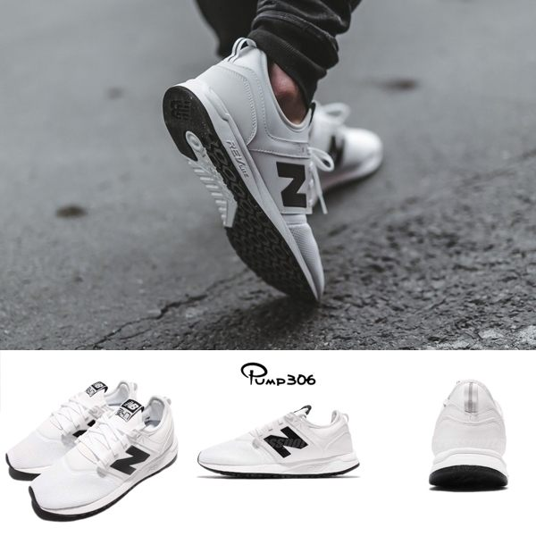 New Balance 慢跑鞋 NB 247 Classic系列 白 黑 全新創作型號 休閒鞋 男鞋 女鞋【PUMP306】 MRL247WBD
