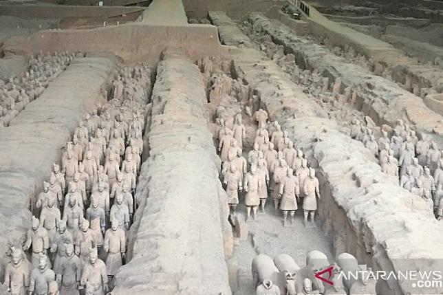 Museum Prajurit Terakota Xi'an kembali dibuka untuk umum