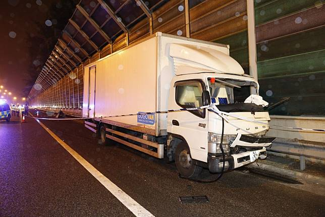 Man dies after being thrown out of truck in collision with stationary car in Hong Kong