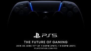延後時間確定!Sony PS5 線上發表會 6 月 12 日凌晨登場