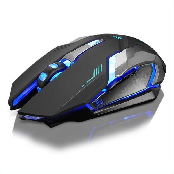 無線滑鼠充電聯想筆記本台式電腦無聲靜音游戲辦公無限男女生