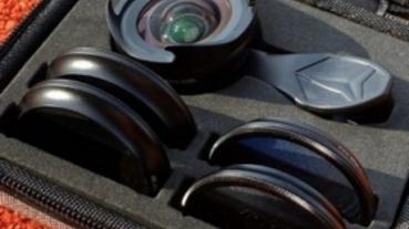 Apexel 鏡頭組,比玩具好太多的手機鏡頭外掛