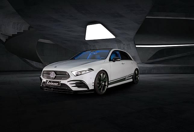 Modifikasi Mercedes-Benz A-Class hasil garapan Lorinser