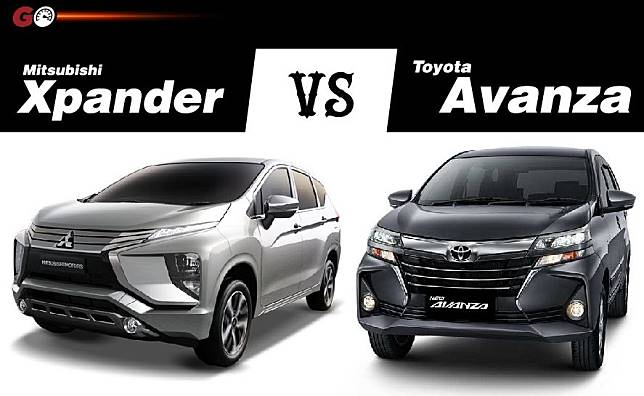 Mitsubishi Xpander vs Toyota Avanza