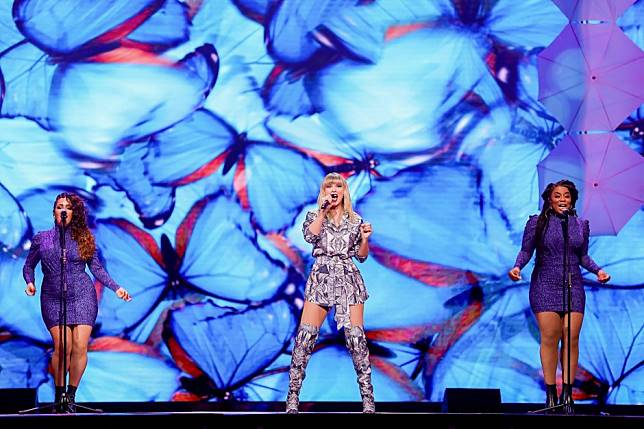 Taylor Swift brings new hits to China in curtain-raiser showpiece to Alibaba's Singles' Day shopping gala