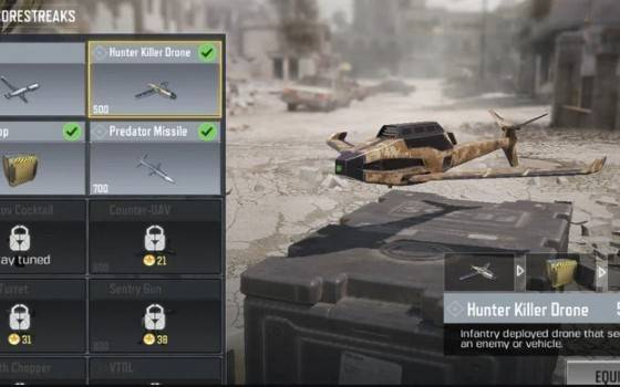 Hunter Killer Drone Real Life