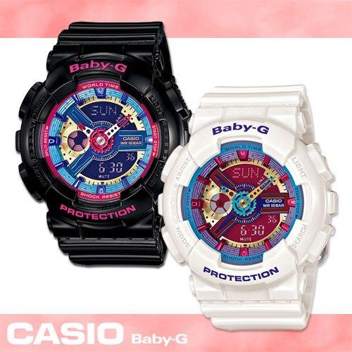 ★CASIO日本原廠機芯★每日鬧鈴冷光照明 橡膠錶帶5組每日鬧鈴