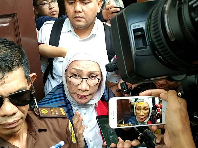 Terdakwa Ratna Sarumpaet - Medcom.id/Ilham Pratama Putra.