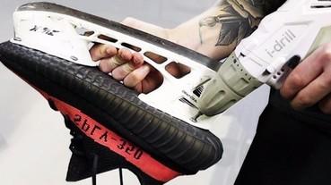 YEEZY BOOST 350 V2 變成溜冰鞋 網路神人新創意!