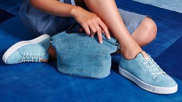 ECCO TRUE INDIGO 丹寧系列 融合藍染及皮革工藝