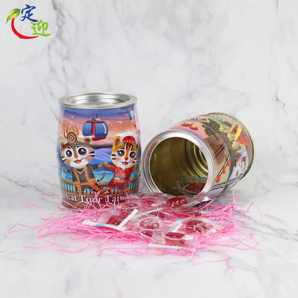 ♛定迎iTQi得獎茶♛-休閒食品-石虎零錢罐-葡萄味貓掌QQ_共二款