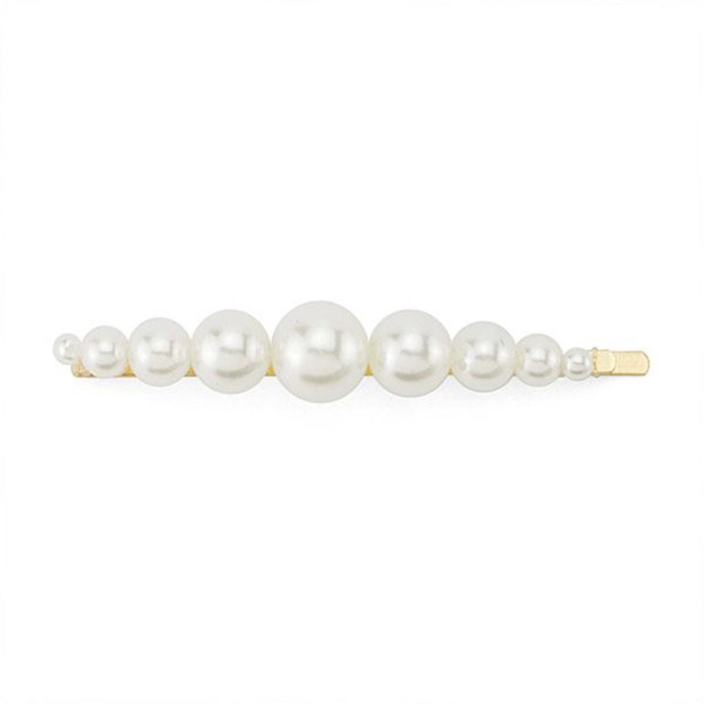 Snatch 金色珍珠舞台U型髮夾 髮飾飾品配件編髮尖嘴夾彈簧夾抓夾邊夾
