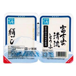 富士山の清流とうふ・絹ごし・木綿