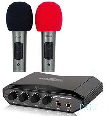 專業級YAMAHA混音晶片,麥克風濾音降噪處理,ECHO可自由調整喜愛效果,結合擴大機與混音器,