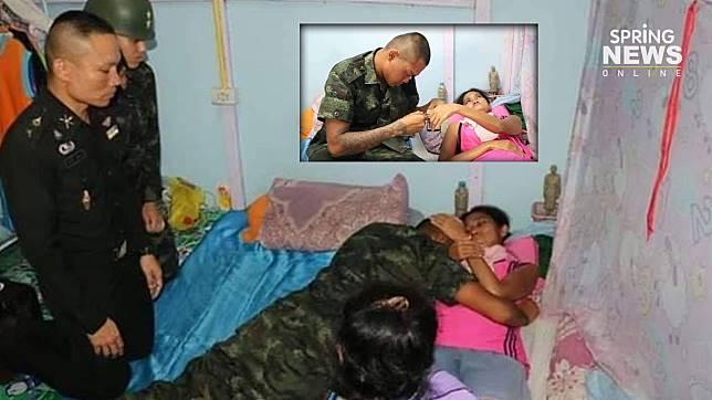 พลทหาร ขอลาไปดูแม่ป่วยติดเตียง สุดท้ายผู้บังคับบัญชายกกำลังมาช่วย