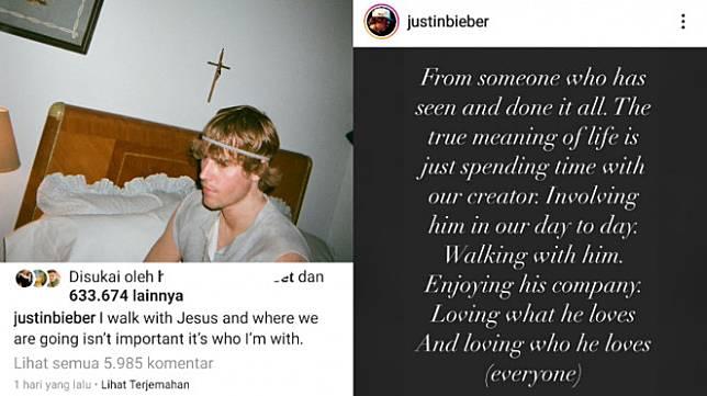 Istri Justin Bieber Bagikan Foto Tanpa Celana Dalam