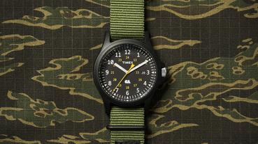軍風型格注入 – TIMEX x CARHARTT WIP 軍事腕錶發售在即