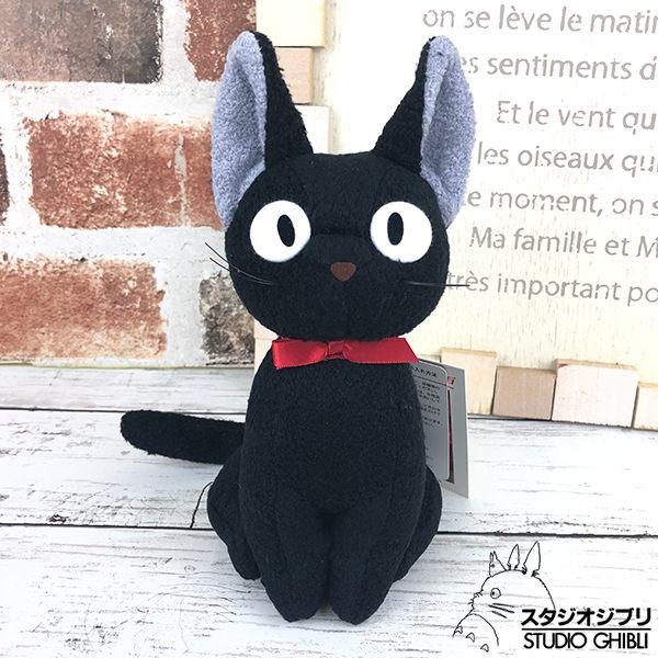 尼德斯Nydus 日本正版 宮崎駿 魔女宅急便 黑貓吉玩偶 娃娃 公仔 M 號