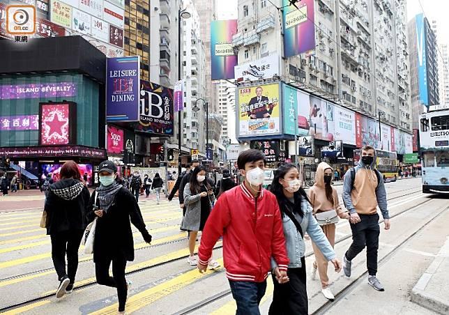 疫情肆虐,本港旅客銳減,餐飲、零售、酒店及旅遊相關等行業首當其衝。