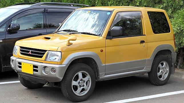 Mitsubishi Pajero Mini, versi bonsai dari Mitsubishi Pajero Sport