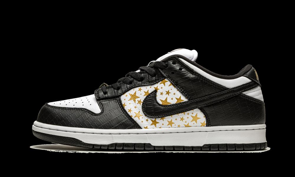 The Supreme x Nike SB Dunk Low