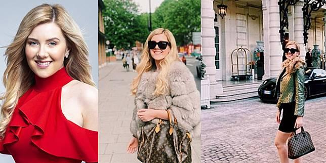 Hannah Kathleen Hawkshaw, gadis putus sekolah yang sukses di bisnis pemasaran online. (Foto: Instagram / Hannah Kathleen Hawkshaw)