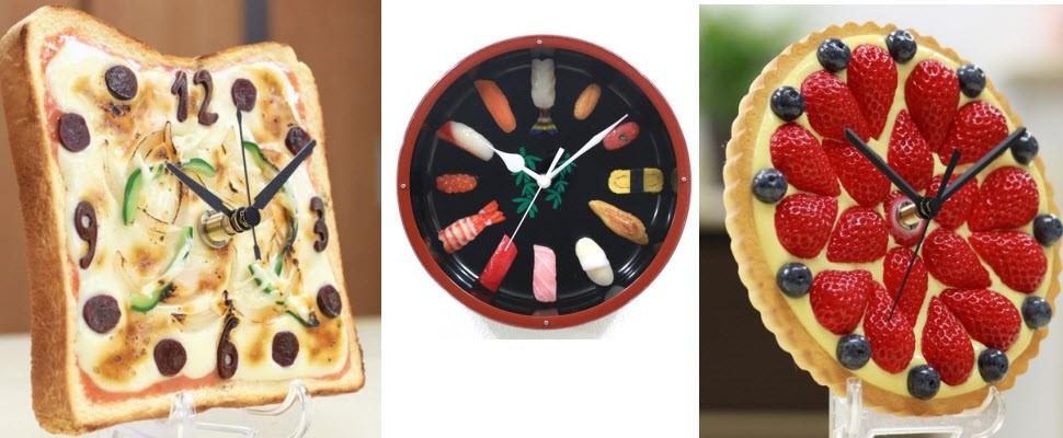 超逼真食物時鐘,就是要你越看越餓