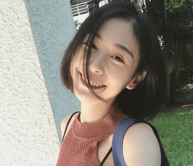 ▲藝人Albee長相甜美可人。(圖/翻攝Albee臉書 , 2018.06.14)