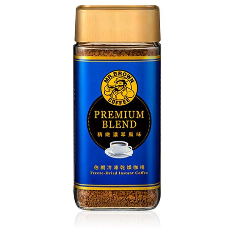 金車伯朗精緻濃萃風味即溶咖啡100g/瓶
