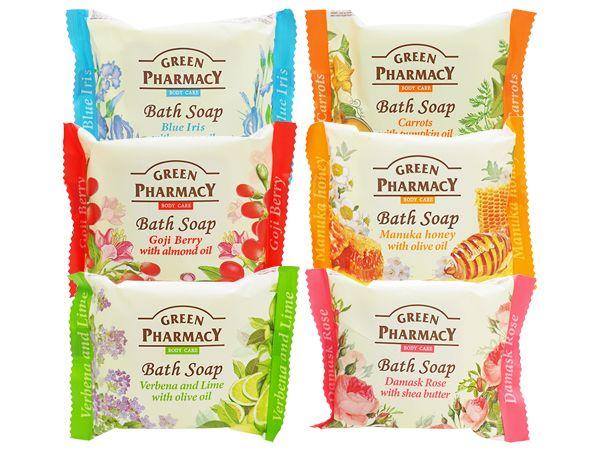 Green Pharmacy~橄欖皂/柔膚皂/緊膚皂/嫩膚皂/喚采皂/理膚皂(100g) 款式可選【D036442】