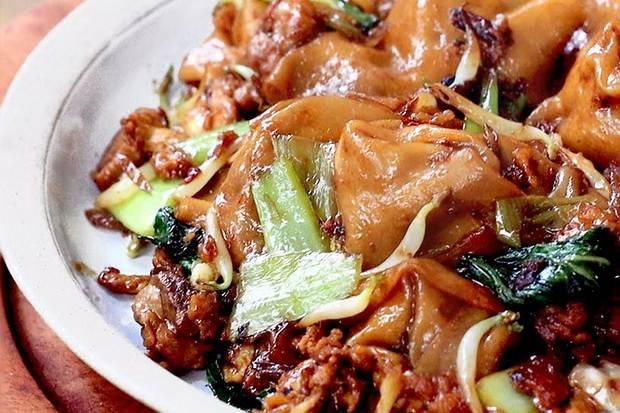 makanan kekinian Pangsit Goreng Le Gino (Pangsit Viral)