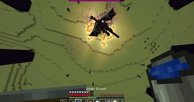 《Minecraft》創世神達成「0 傷害輸出」一路殺到終界龍全破