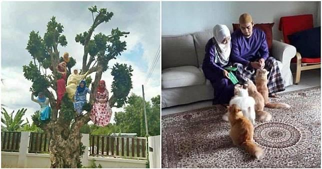 7 Gaya foto keluarga pas lebaran ini bikin ketawa ngakak