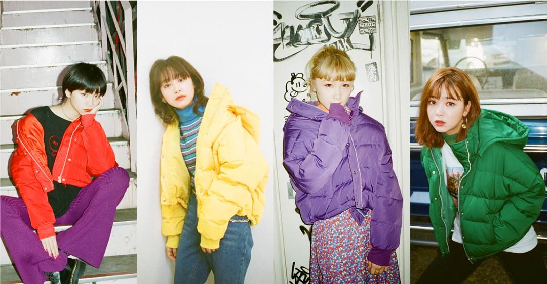 20 位模特兒、藝人一同詮釋!『jouetie』展開羽絨外套形象穿搭企劃