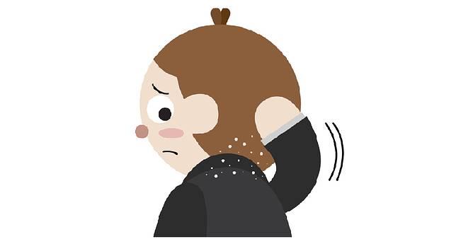 頭皮屑不要怕~了解5原因與療法