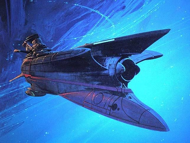 Syd Mead更曾參與日本動畫《大和號2520》製作。(互聯網)