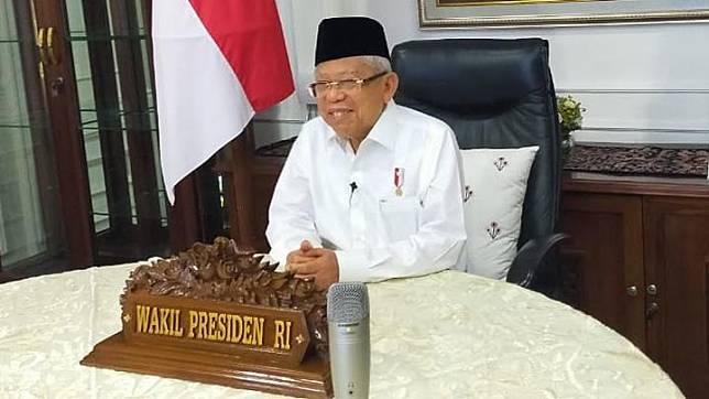 Vice President Ma'ruf Amin. Photo: Vice President's Secretariat