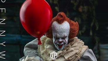 Hot Toys 為《IT》「恐怖小丑」推出模型!