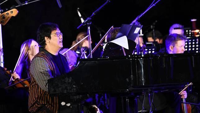 Panggung musik besutan Erwin Gutawa bertajuk Konser Pusaka di Eitorf, Jerman. (Ist)