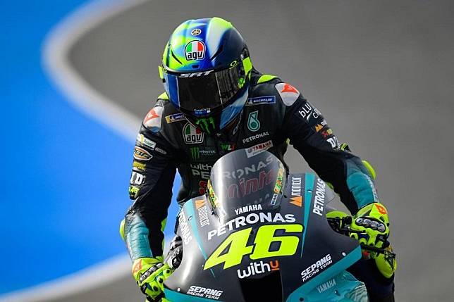 Valentino Rossi pun Pusing dengan Performanya di MotoGP 2021
