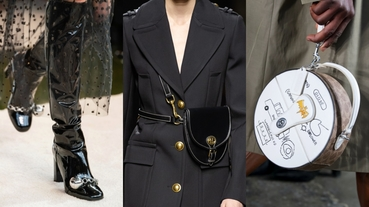 2020秋冬紐約時裝週 下一季的配件趨勢是什麼?跟著編一同網羅最HOT亮點配件!