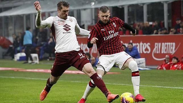 Rebic Cetak Gol Lagi, AC Milan Taklukkan Torino