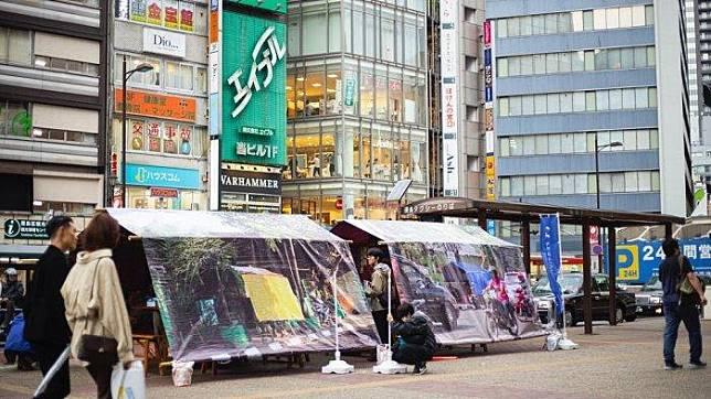 Passpod, Jepang, Angkringan