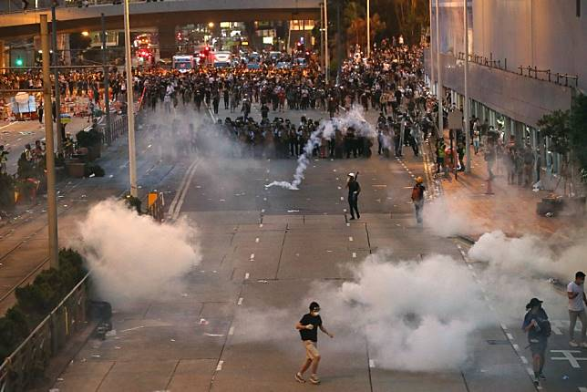 Hong Kong's youngsters are not afraid of batons and bullets, and that is truly frightening
