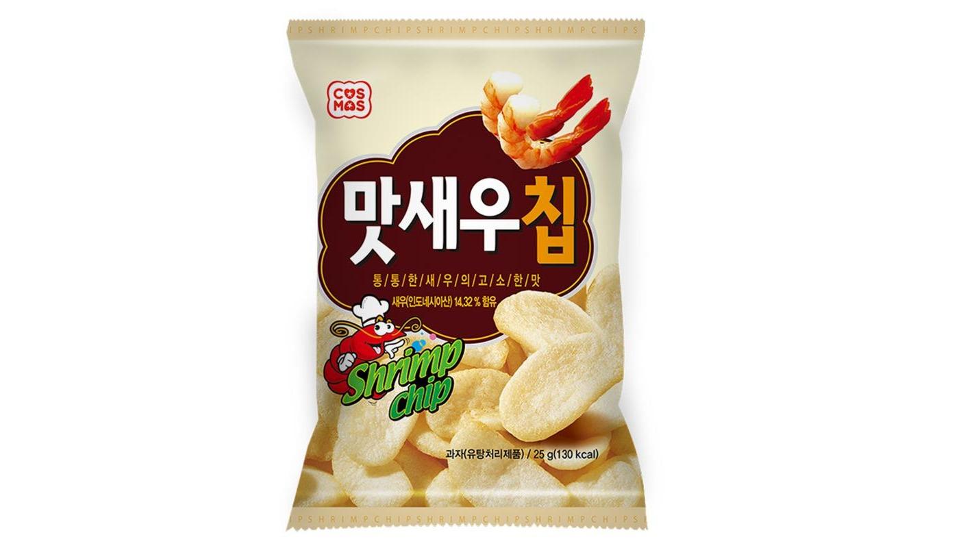 【瘋零食】COSMOS韓式鮮蝦脆片